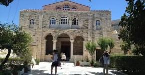 Cosa vedere a Paros, la Chiesa delle Cento Porte