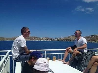 traghetti in Grecia