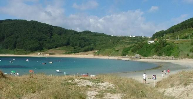 Il mare più blu? In Galizia, a Porto de Bares