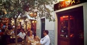 Enoteca Fuoriporta a Firenze, mangiare in relax