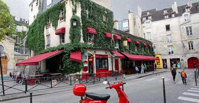 Passeggiando per le Marais, Parigi