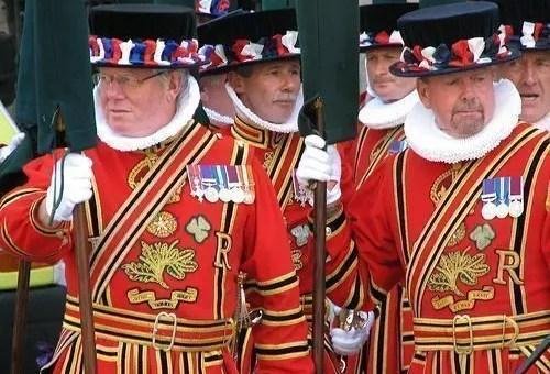 Yeoman Warders, i custodi della Torre di Londra
