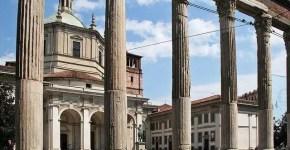 Le colonne di San Lorenzo a Milano: 16 colonne romane
