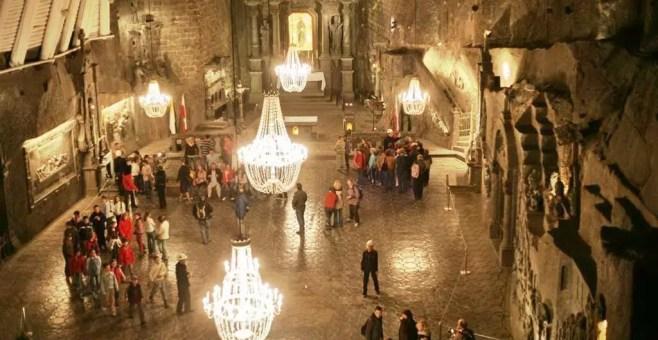 A Wieliczka, in Polonia, tour nelle miniere di sale Patrimonio UNESCO