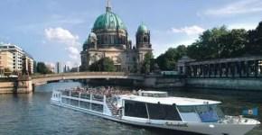 Berlino vista dall'acqua con River Cruises