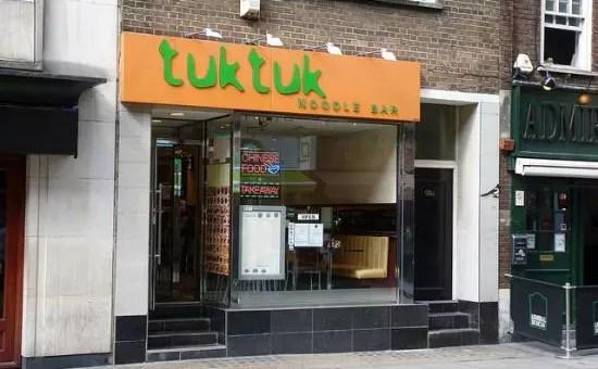 Ristoranti low cost a Londra: Tuk Tuk a Soho