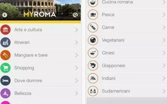 MyRoma: la nuova app per vivere la capitale
