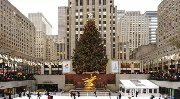 Albero Di Natale New York.Albero Di Natale Rockefeller Center