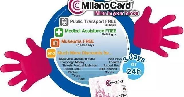 La MilanoCard, tanti vantaggi per visitare la città