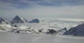 Inverno sul Monte Rosa