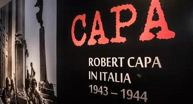 Robert Capa: la sua guerra in mostra a Firenze