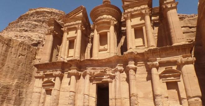 Petra, la regina di Giordania