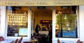 Un ristorante delizioso all'Ile de la Cité a Parigi