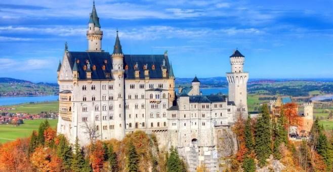 Il Castello di Neuschwanstein e le fiabe Disney