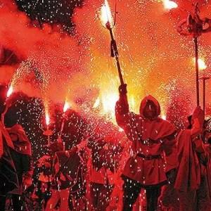 La festa de la Mercè 2014 a Barcellona