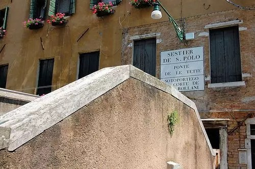Il quartiere a luci rosse a Venezia: Le Carampane