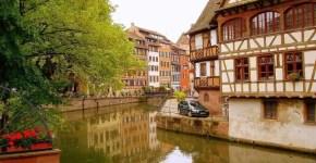 Strasburgo, la Petite France e l'orologio astronomico