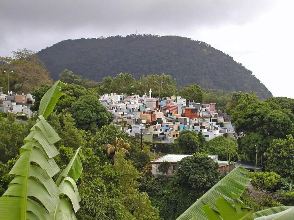 Guadeloupe (Le cimetière de Gourbeyre).