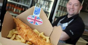 Fish and chips in Scozia low cost a Stonehaven
