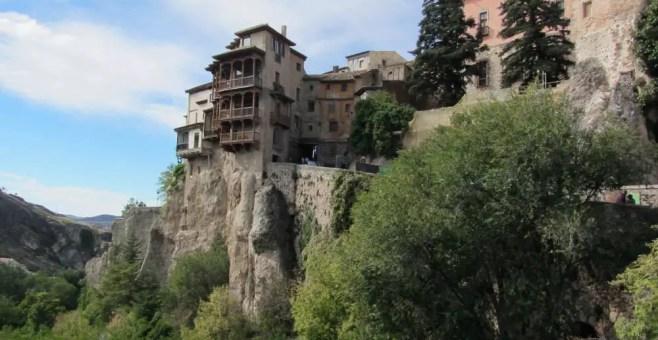 Cuenca, le case sospese in Spagna