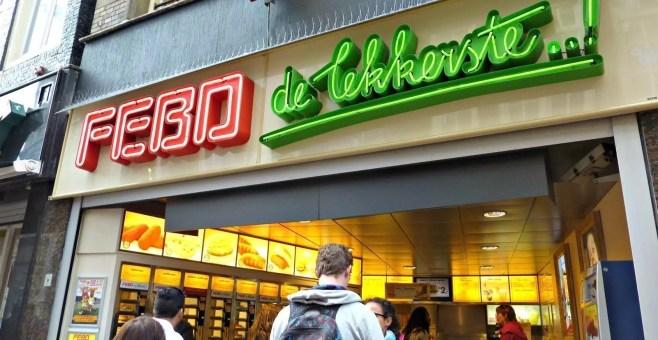 Amsterdam: distributori automatici Febo