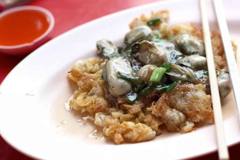 bangkok-Oyster Omelet
