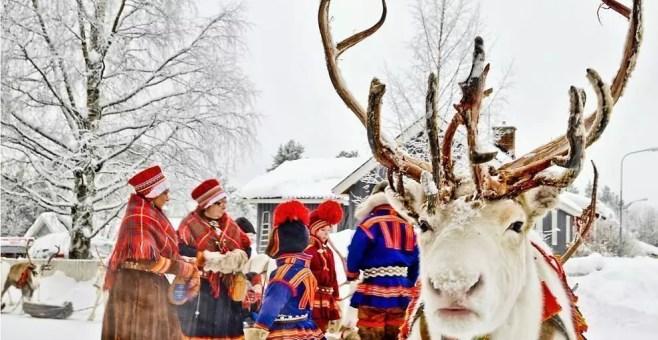 I Sami della Lapponia finlandese