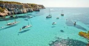 Spiagge a Minorca per famiglie con bambini