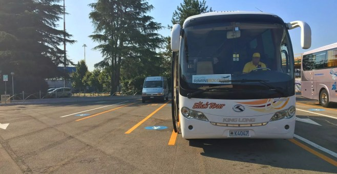 Rimini Shuttle, all'aeroporto di Bologna low cost