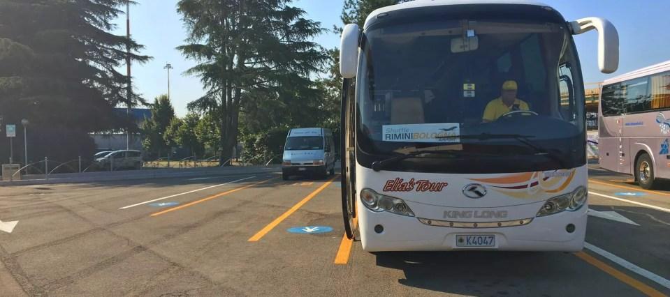 Rimini Shuttle, all'aeroporto di Bologna low cost