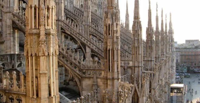 Visita delle terrazze del Duomo di Milano