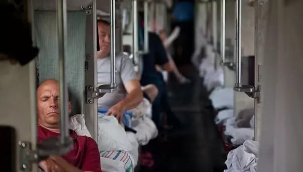 Transiberiana, seconda e terza classe, le differenze
