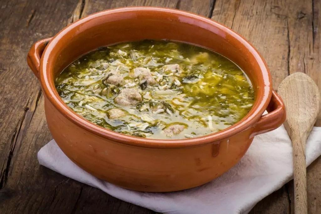 Zuppa alla santè tipica venafrana