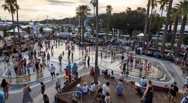 Elizabeth Quay, la nuova zona di Perth: Australia