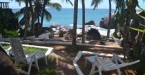 Dormire a Mahè alle Seychelles: villa vista mare