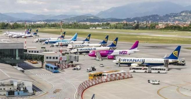 Bergamo, dall'aeroporto al centro città