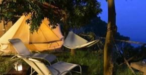 Cannaverde: glamping a picco sul mare di Maiori