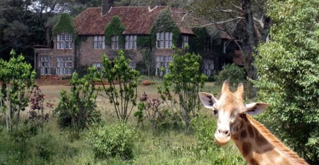 Giraffe Manor, Kenya: a colazione con le giraffe