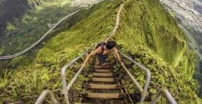 Scala di Haiku, Kaneohe (Oahu): scala verso il paradiso
