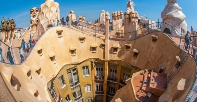 Itinerario dell'arte a Barcellona