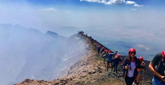 Visitare l'Etna: consigli sulle migliori attività low cost