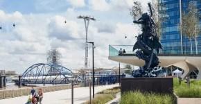 Un parco sospeso sul Tamigi: The Tide a Londra