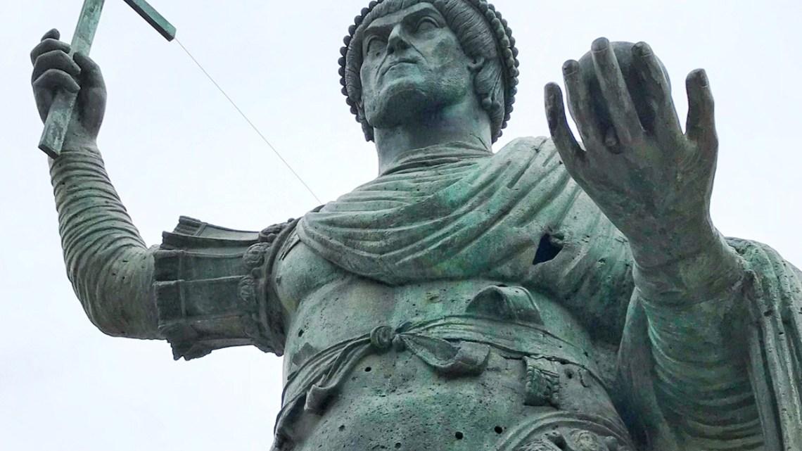 Eraclio, il gigante buono che salvò Barletta