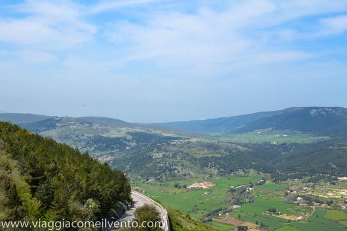 Vista dal Castello di Monte Sant'Angelo