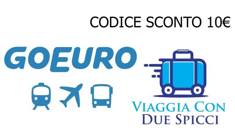 10€ di sconto su autobus treni e voli con GoEuro