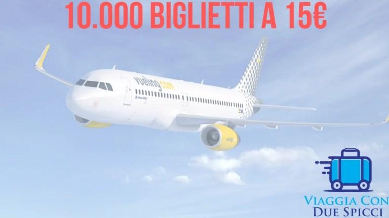 Vueling, tanti voli a 15€