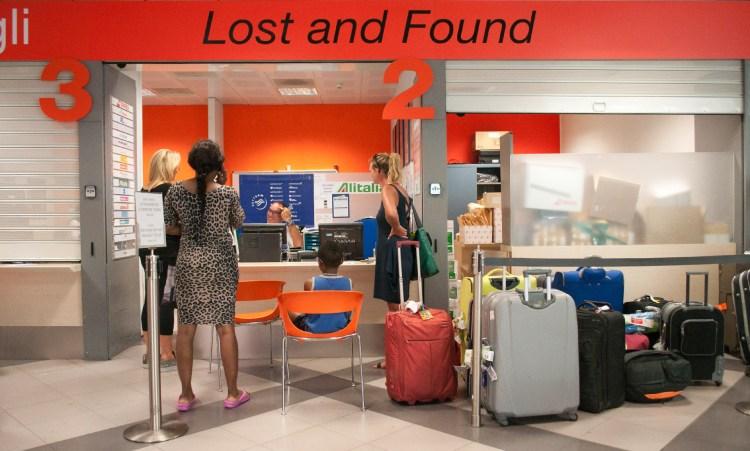 diritti del passeggero danni ai bagagli