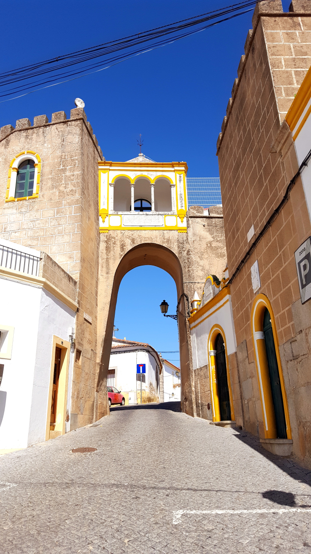 elvas arco centro storico