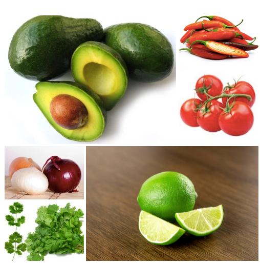 ingredienti ricetta guacamole