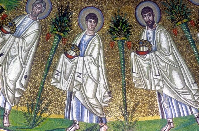 mosaico battistero ariani